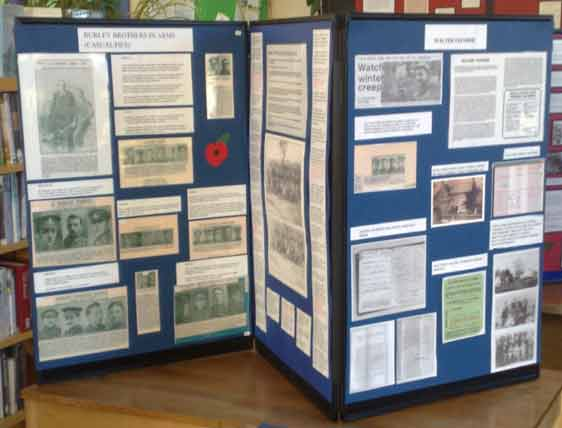 Armistice Exhibition - Brothers in Arms - Burley Community Library