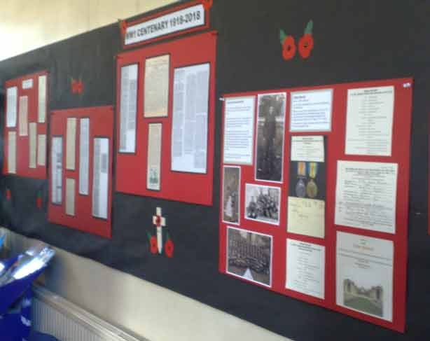 Armistice Exhibition - Letters from the Front - Burley Community Library