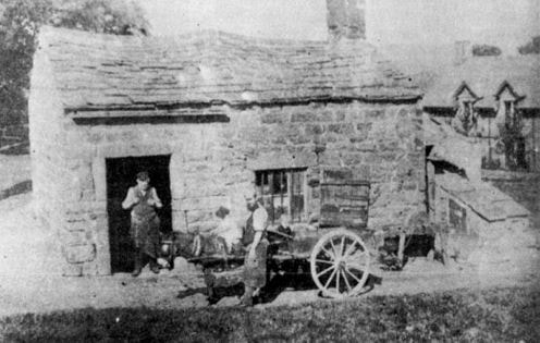 Forge at junction Moor Lane and Moor Road, Burley Woodhead.