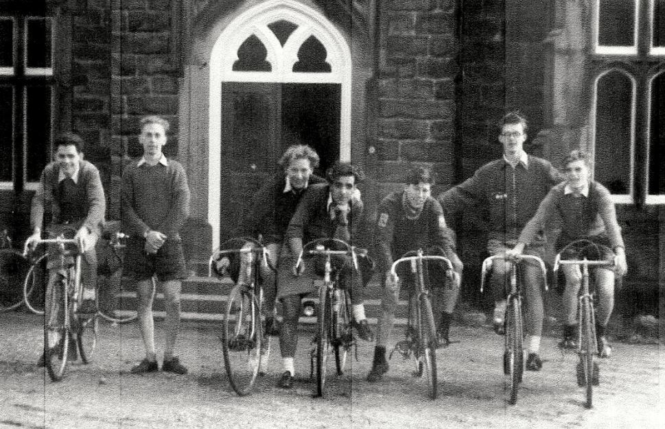 1956 - Conisbrough Ivanhoe Cycling Club at Burley Woodhead YHA.