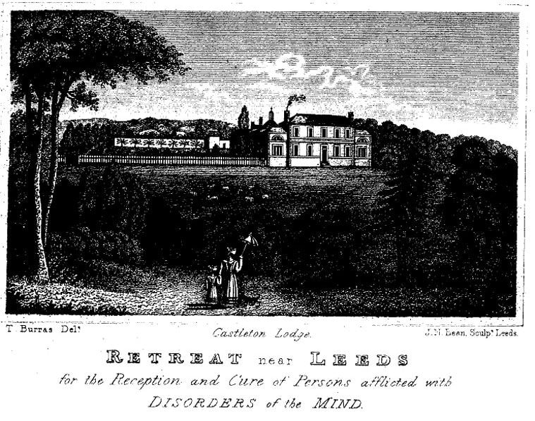 Castleton Lodge Retreat, Leeds in the 19th century