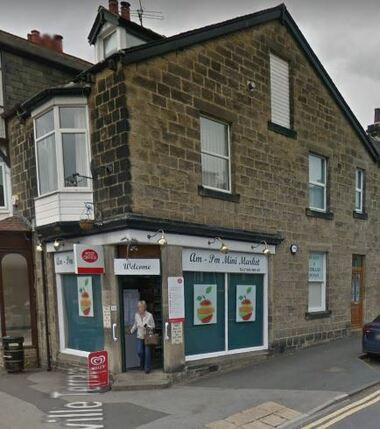 Am Pm Mini Market & Post Office, 36 Station Road, Burley in Wharfedale - 2017.