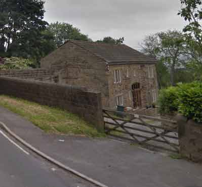 The Fellowship barn on Mr & Mrs Chorley's land at Burley Woodhead