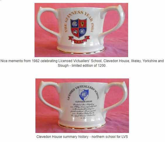 Guiness 3 handled limited edition mug - Clevedon House School