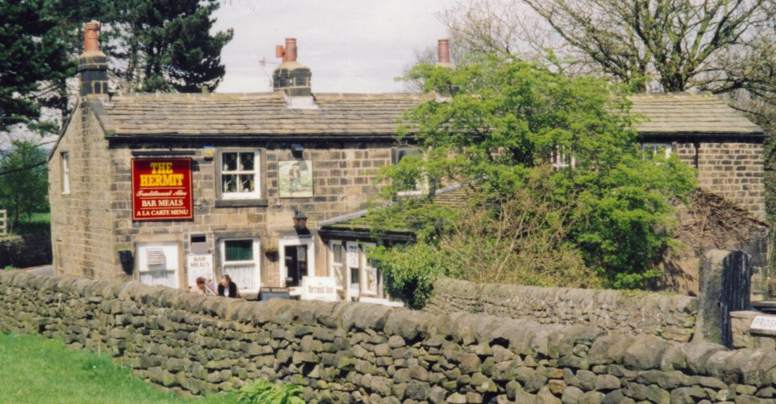 The Hermit Pub, Moor Road,   Burley Woodhead.