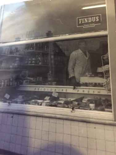 Laurence Blessington in A. Peace's Fresh Fish Shop, 34 Station Rd, Burley in Wharfedale.