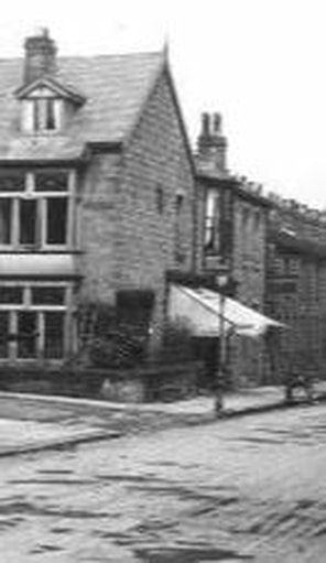 34 Station Road, Burley in Wharfedale - c1930s.