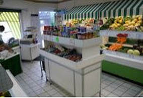 Interior of Country Corner Greengrocers, Burley in Wharfedale