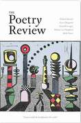 Poetry Review Magazine Front Cover