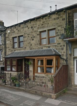 Site of Wright's & Kingstons Greengrocers - 46 Station Road Burley in Wharfedale.