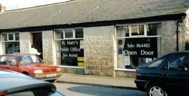St Marys Parish Office and Open Door, 43 Station Road, Burley in Wharfedale.