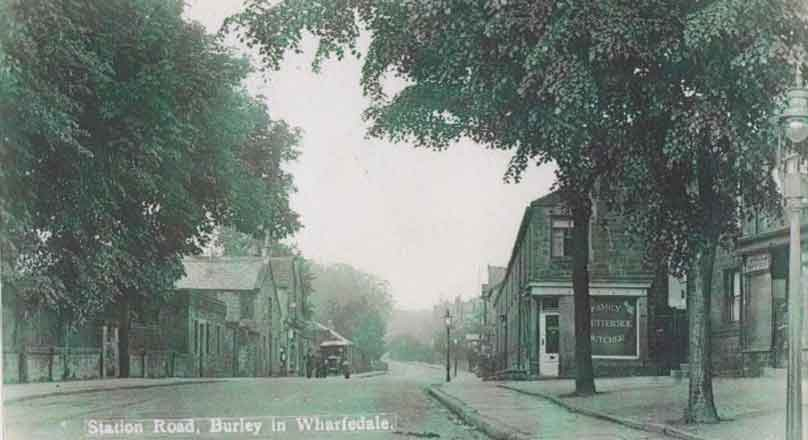 Station Road, possibly 1920s - Burley in Wharfedale.
