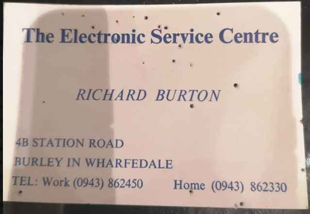 The Electronic Service Centre,  4b Station Road, Burley in Wharfedale.
