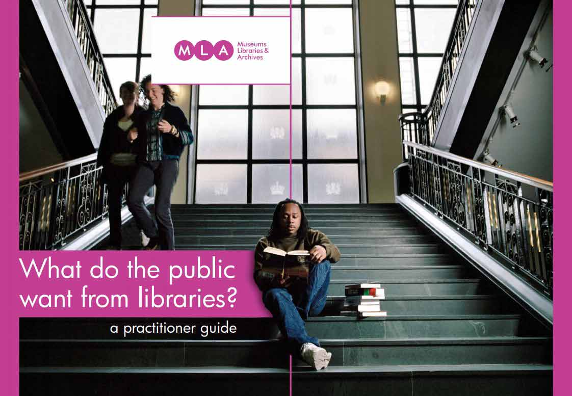 What Do The Public Want From Libraries? Front Cover of Guide